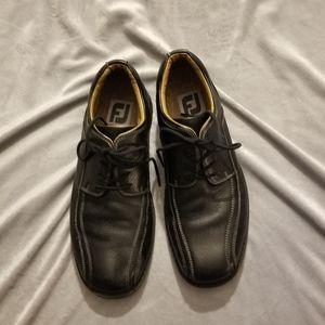 FootJoy Black leather casual shoe Sz 10.5M